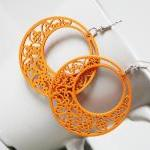 Fun Orange Classic Circle of Love F..